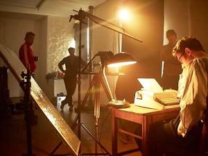 "Studio Nippes - Dreharbeiten ""Le mietautoR"""